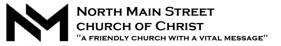 Logo for North Main Street church of Christ
